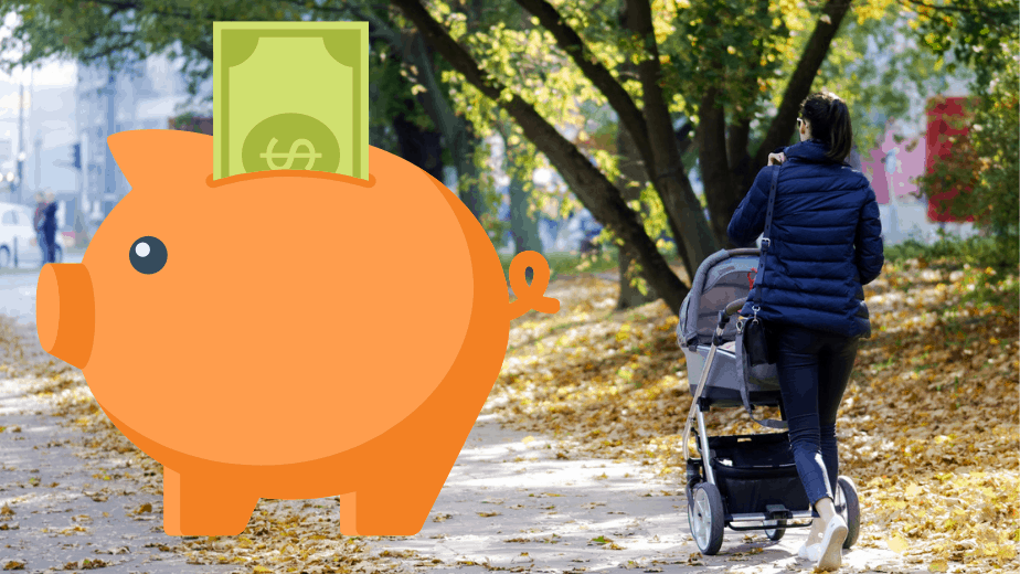 hur spara pengar föräldraledig
