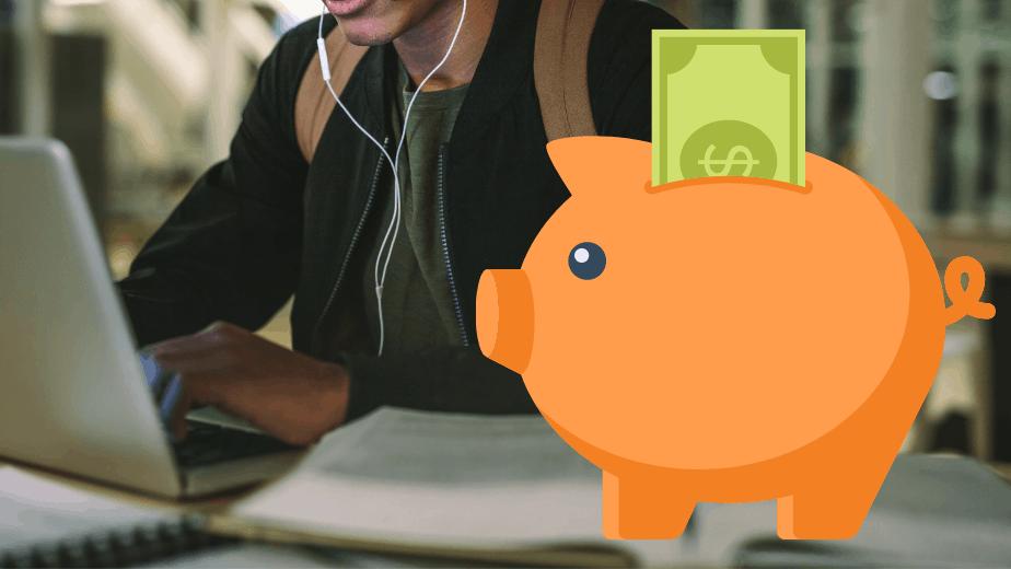 hur sparar man pengar som student